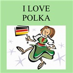 polka gifts and t-shirts