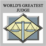 world's greatest judge gifts t-shirts