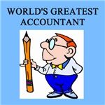world;s greatest accountant gifts t-shirts present