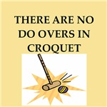 croquet gifts t-shirts