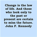 great john f kennedy quote on gifts and t-shirts