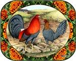 Beautiful Game Fowl