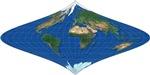 World Curved Rhombus Design