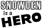 Snowden Is a Hero Shirts