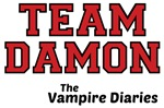 The Vampire Diaries Team Damon Tee Shirts