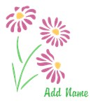 Personalized Flowers Shirts
