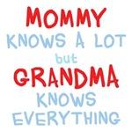 Grandma Knows Everything Shirts