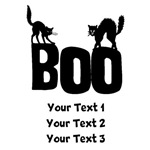 Personalized Boo Black Cats Shirts
