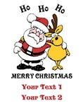 Personalized Christmas Santa Shirts
