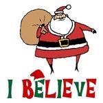 I Believe Santa Shirts
