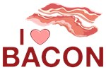 I Love Bacon Shirts