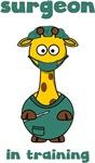 Giraffe Surgeon In Training Shirts