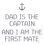 I Am the First Mate Kids Shirts