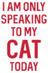 Speaking To My Cat