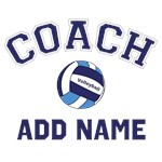 Personalized Volleyball Coach Shirts