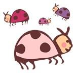 Cute Ladybug Baby T-shirts