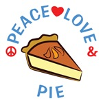 Peace Love Pie T Shirts