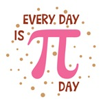 Every Day Is Pi Day Shirts
