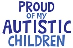 Proud Of My Autistic Children Shirt