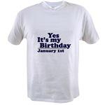 T-Shirts for January Birthdays