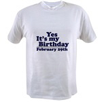 T-Shirts for February Birthdays
