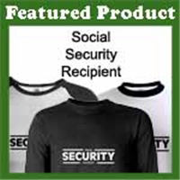 Social SECURITY Recipient: Funny T-Shirts & Gifts