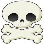 Cute Skull And Crossed Bones T-Shirts & Gifts