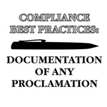 Compliance Best Practices Documentation T-Shirts &