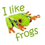 I Like Frogs T-Shirts & Gifts