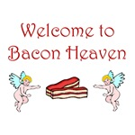 Welcome to Bacon Heaven T-Shirts & Gifts