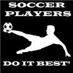Soccer Players Do It Best