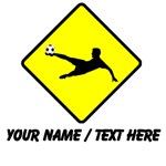Soccer Player Crossing