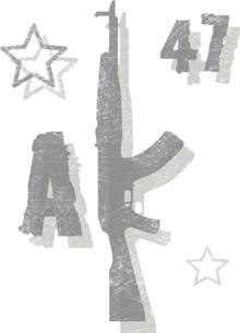 AK-47 Kalashnikov Machine Gun