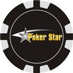 Poker Shooting Star Chip