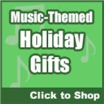 Music Themed Holiday Gifts