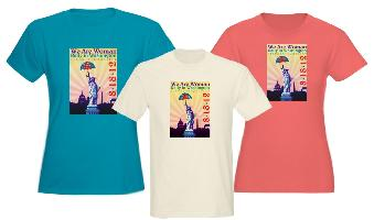 Color Shirts Commemorative Liberty & Equality