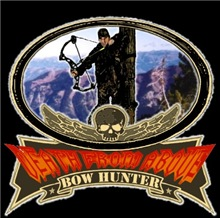 death from above bow hunting brand looks great on