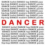 Dancer Block Words