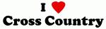 I Love Cross Country