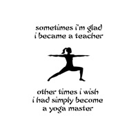 Teaching Yoga Master