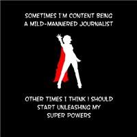 Superheroine Journalist
