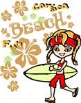 Girl Beach 03