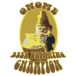 Gnome Beer Drinking Champion