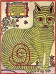 Russian Folk Art Cat