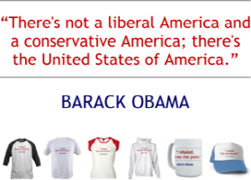 Barack Obama Quote - Liberal/Conservative America