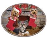 Yorkie Christmas Stockings