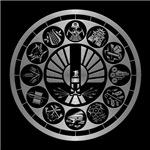 Hunger Games Silver Panem District Art Silver