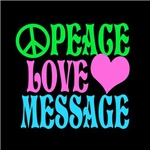 PEACE LOVE AND PERSONALIZE!