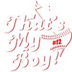 That's My Boy Baseball Mom Original