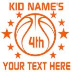 Personalized Basketball Birthday Classic